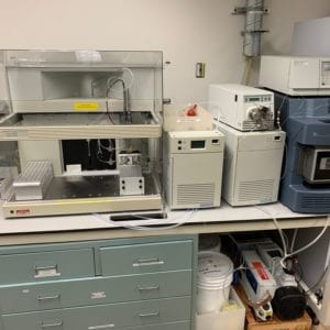 Waters Prep HPLC System with SQ Detector 2